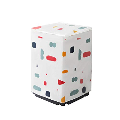 non-branded Cubierta de La Lavadora Cubierta de La Lavadora Secadora Cubierta Superior del Refrigerador Cubierta Antipolvo del Refrigerador para El Patrón del Rodillo de La Lavadora