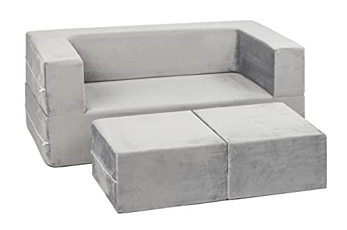 Milliard Kids Couch - Modular Kids Sofa for Toddler and Baby