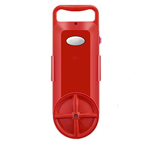 Machine à Laver Micro Petit Mini artefact de Lavage Portable Chaussettes de Lavage Simple Paresseux vêtements sous-vêtements (Color : Red, Size : Hardened Version)
