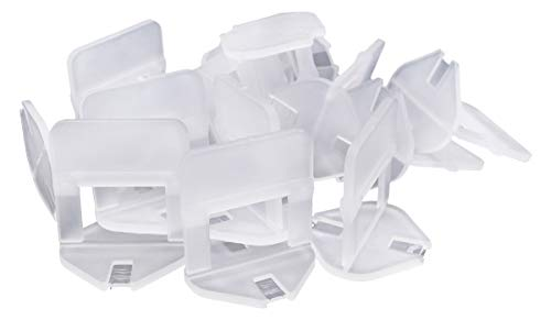 Bauhandel24-1000 Zuglaschen 2mm, Fliesenverlegehilfe, Verlegehilfe, Laschen, Verlegesystem, Fliesen Werkzeug