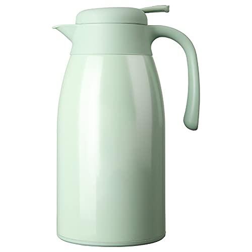 SOFIL 2.2 Liter Jarra Térmica Termo,Anti-Goteo,Anti-Quemaduras,La cafetera de Aislamiento,café,(Rosado)