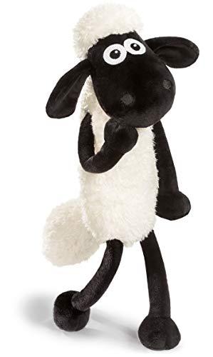 NICI Kuscheltier Shaun das Schaf 35 cm – Schaf Plüschtier für Mädchen, Jungen & Babys – Flauschiges Stofftier Schaf zum Kuscheln, Spielen und Schlafen – Gemütliches Schmusetier für jedes Alter – 45846