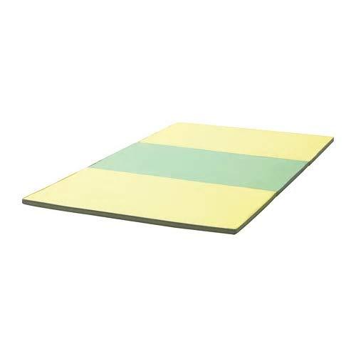 IKEA/イケア PASSBIT:折りたたみ式ジムマット 120x225 cm イエロー/グリーン/グレー(004.103.56)