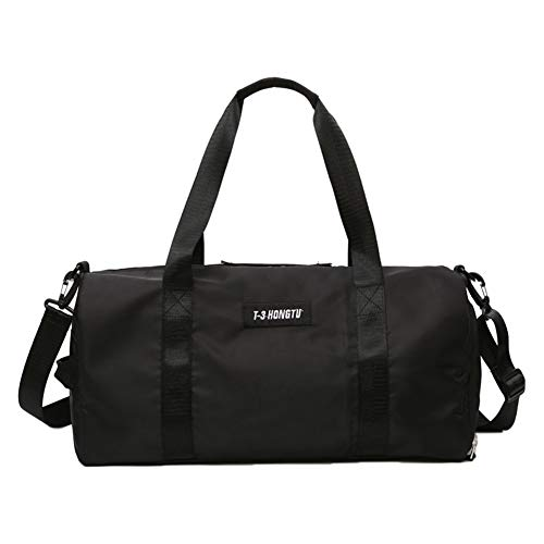 DELIBEST Travel Duffle Bag For Women & Men, Dry & Wet Separation...