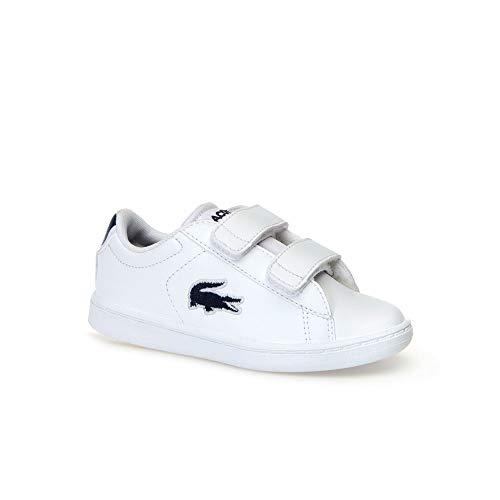 Lacoste Carnaby Evo Kinder Sneaker Weiß