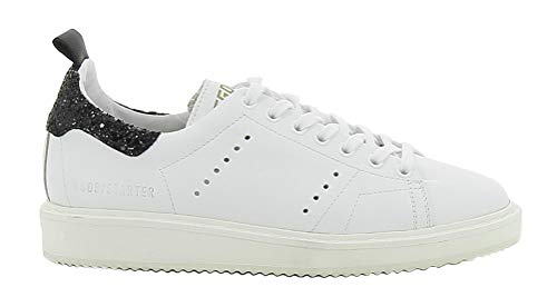 Golden Goose Men's Air Trainers Breathable Casual Sports Sneaker Walking Shoes Black