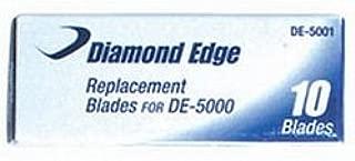 Diamond Edge Replacement Blades For DE-5000 / 10 per Box (DE-5001)