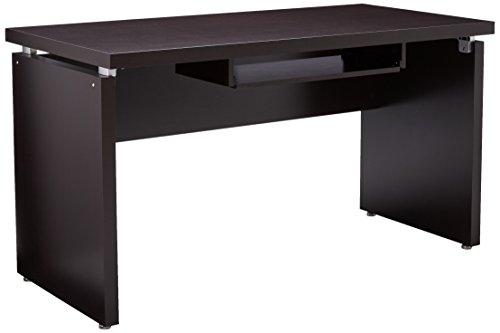 Skylar Computer Desk with Drop Down Drawer Cappuccino