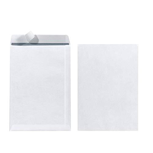 Herlitz Versandtasche C5 90 g Haftklebend, 25 Stück mit Innendruck in Folienpackung, eingeschweißt, weiß