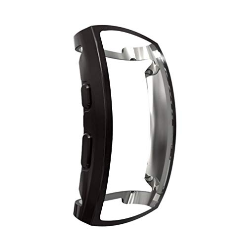 NICERIO Compatible for Samsung Gear Fit 2 Pro Case Smart Watch Cover Watch Screen Protector TPU Watch Protective Cover Wristwatch Shell