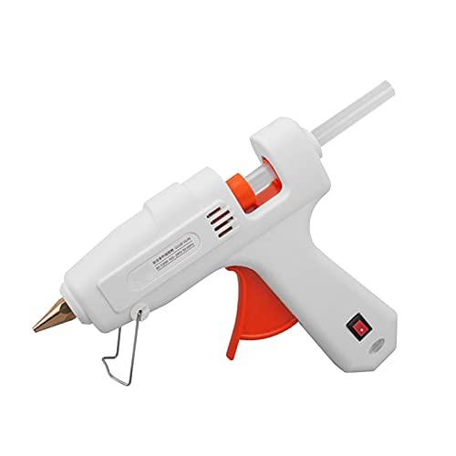 Voupuoda Pistola Colla a Caldo 220V 40W Hot Melt Glue Gun Premium Glue Sticks Repair Tool w/ 10pcs...