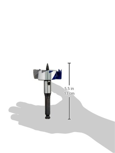 IRWIN Drill Bit, 3-Cutter, Self Feed, 2-9/16-Inch (3046013)