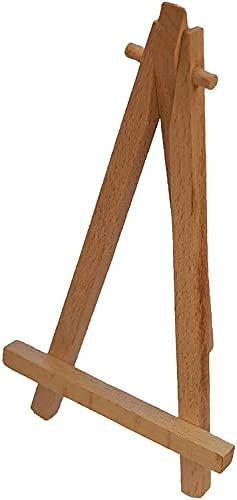 Ezel hout voor leistenen panelen hoogte ca. 16 cm breedte ca. 9 cm
