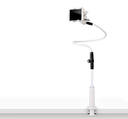 Tianyidq Supporto per Cellulare, Cellulare Supporto a Collo di Cigno Supporto Universale per iPhone Smartphone Cellulare Tablet 360 Gradi Rotazione,Supporto per Telefono(nero )