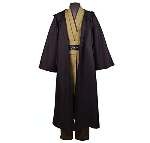 CospartsObi-Wan Classic Cosplay Robe Tunic Costume (US Size Man Large)
