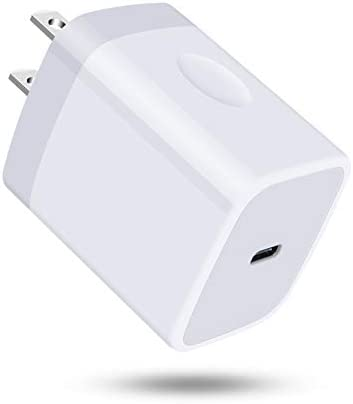 USB C Wall Charger 18W PD3 0 Fast Charging Block Type C Power Wall Adapter Plug Cube for iPhone product image