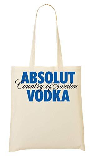 Wicked Design Absolut Vodka Logo Bolso De Mano Bolsa De La Compra