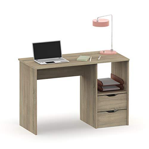 Pitarch Mesa Escritorio EKO 2 cajones 1 Hueco Color Cambrian Oficina despacho Estilo Moderno 76x115x50 cm