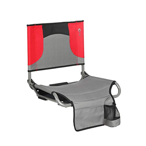 Portal Tension Portable Folding Steel Stadium Seat with Cup Holder