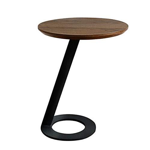 Tables FEI - Bureau d'ordinateur d'appoint Ronde de Salon multifonctionnelle d'appoint de canapé de d'extrémité pour Tous Les postes de Travail (Couleur : 01)