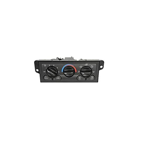 ACDelco 15-72846 GM Original Equipment Heating and Air Conditioning Control Panel with Rear Window Defogger Switch