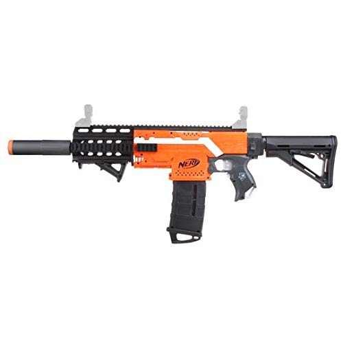 Skywin Modification Kits Compatible with Nerf Stryfe Blaster Toy - Easy to Use Compatible with Worker Nerf, Mod Kit That Adds Design to Your Toy Blasters, M4 Look