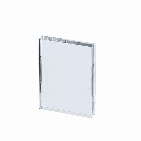 efco Acrylblock mit Griffmulde 76 x 100 x 15 mm transparent