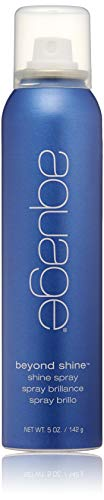 AQUAGE Beyond Shine Spray, 5 Oz, Fine-Mist Silkening and Glossing Spray that Creates Brilliant Shine, Protects Hair Against Damage from Thermal Styling Tools