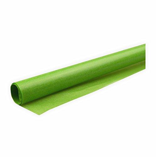 Transparentpapier 42g/m² 1 Rolle hellgrün 70x100cm Drachenpapier