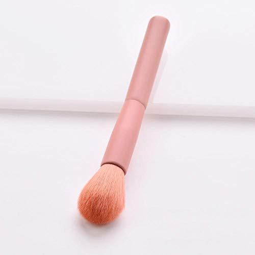 QWK Foundation kosmetische Augenbrauen Lidschatten Pinsel Make-up Pinsel Set Tool, E.