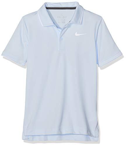 NIKE B NKCT Dry Team Camiseta Polo, Niños, Azul (Half Blue/White), XS