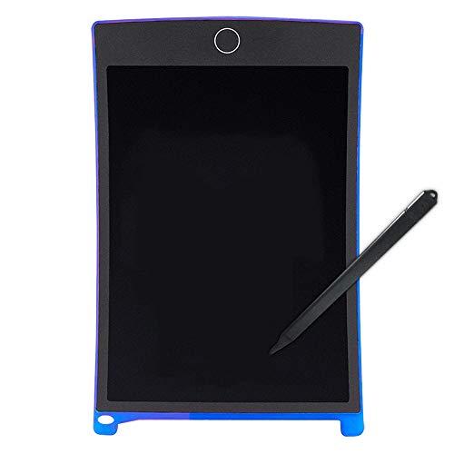 LK-HOME LCD-schrijfbord, val- en slijtvast 8,5 inch tekenplank met één-knop-transparante functie, geschikt voor peuters, tekenen, leren en werken.