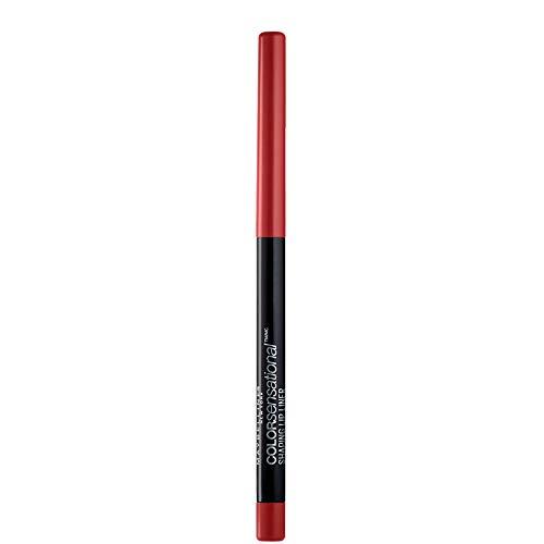 Maybelline New York Color Sensational Shaping Lip Liner Matita Labbra, Effetto Volumizzante, 90 Brick Red