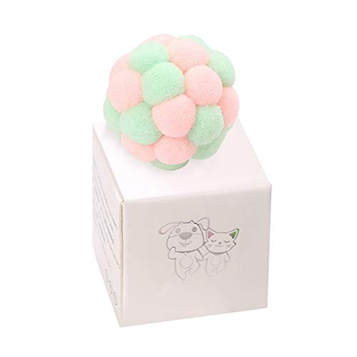 Danigrefinb Plüschspielzeug für Haustiere, Katzen, Kätzchen, Ball-Box, Geschenkbox, bissfest