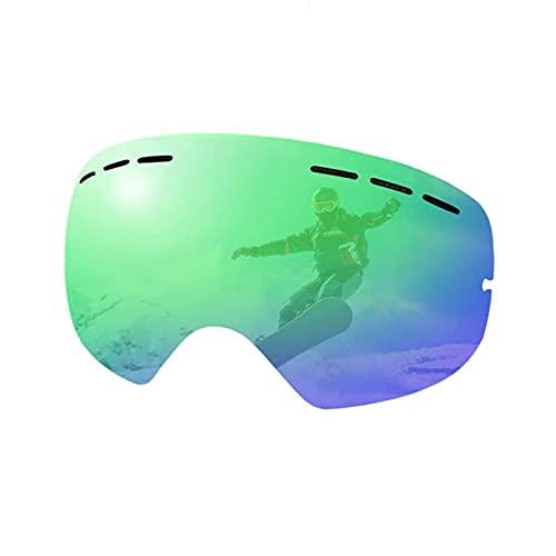 MGPLBYA A Prueba de Viento a Prueba de Polvo Deportes al Aire Libre, Gafas de esquí Nuevas Capas Dobles Anti-Niebla Gafas de esquí Snow Snowboard Gafas Snowmobile Eyewear Ski Ski Gafas de esquí
