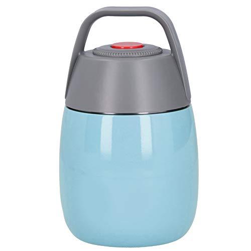 La comida al vacío contiene el pote de la fiambrera para la oficina para el hogar(blue)