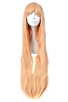Anime Cosplay Wigs Long Section Curly Hair for Umaru Girls Wig Blonde