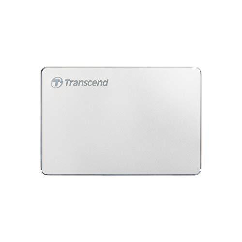 Transcend 1TB StoreJet 25C3S SJ25C3S Externe Festplatte TS1TSJ25C3S,1 TB,Type-C, USB 3.1 Gen 1