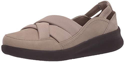 Clarks Women's Sillian 2.0 Star Loafer, Sand Synthetic, 085 M US