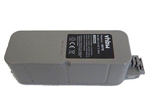 vhbw NiMH Akku 3300mAh (14.4V) passend für Vileda M-488a Staubsauger, Roboter Ersatz für APS 4905.
