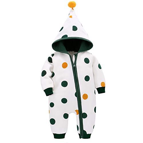 Bebone Baby Kleidung Jungen Mädchen Strampler Neugeborenen Overall, 3-6 Monate, Grün 2 (Herstellergrosse - 59)