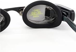 FORM Smart Swim Goggles, Fitness Tracker voor Zwembad en Open Water met een Doorzichtig Display dat uw Prestatiemetingen...