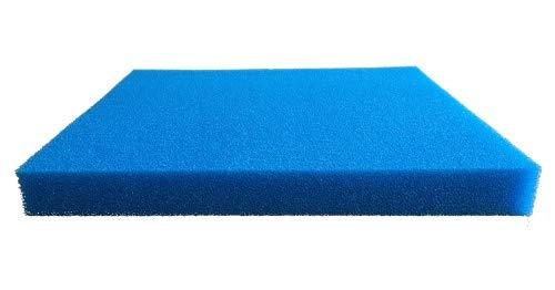 Pondlife Filtermatte Filterschwamm blau Größe 50x50x5cm mittel 20PPI