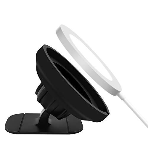 Supporto per Presa D'aria per Caricatore Magsafe, Supporto per Telefono per Auto da Cruscotto Woffoly Compatibile con iPhone 12 Pro Max/12 Pro/12 Mini/12, Forte Gel Adesivo Magsafe Accessori