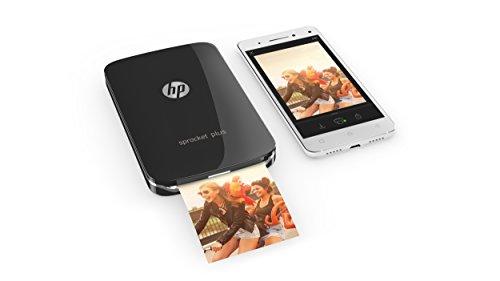 HP Sprocket Plus Noire