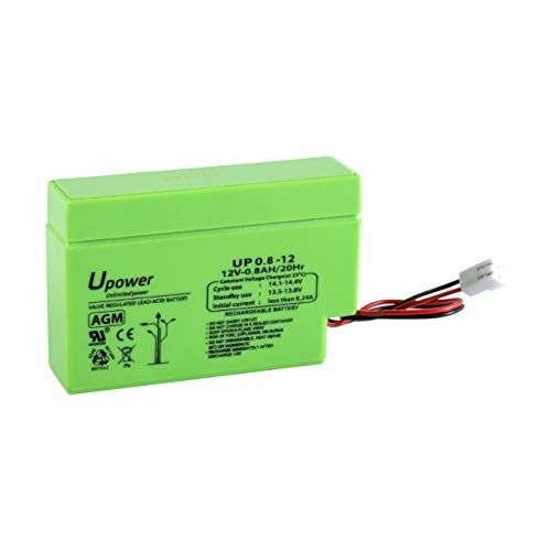 Bateria Plomo AGM 0,8Ah 12V