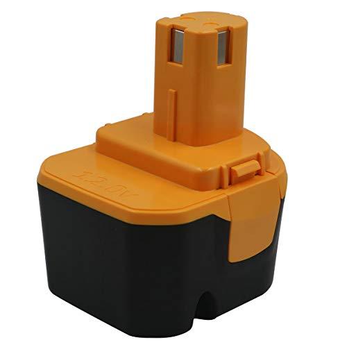 Batería de repuesto de 12V 1300mAh para RYOBI 1400652 1400652B 1400670 1400143...