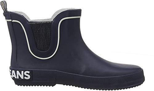 Pepe Jeans London Unisex-Kinder Brent Chelsea JUNIOR Gummistiefel, Blau (Navy 595), 32 EU