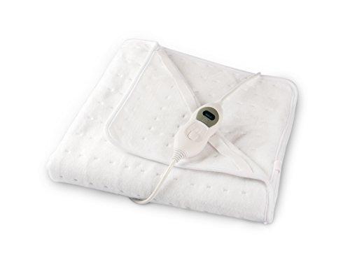 Vidabelle Wärmeunterbett 'Classic', 80 x 150, GS & Oekotex geprüft mit 3 Temperaturstufen und Überhitzungsschutz - flauschig und schnellwärmend