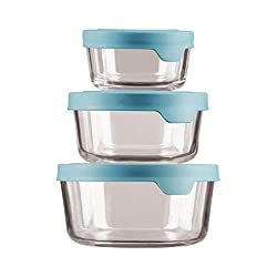 Anchor Hocking glass food storage containers